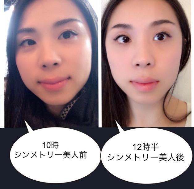 タラネンコ聡子のシンメトリー美人ビフォーアフター